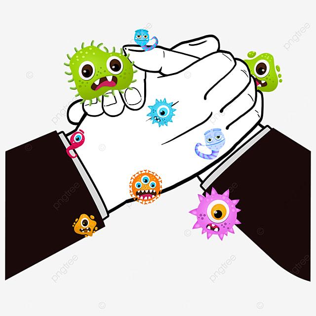 new crown virus business gesture handshake