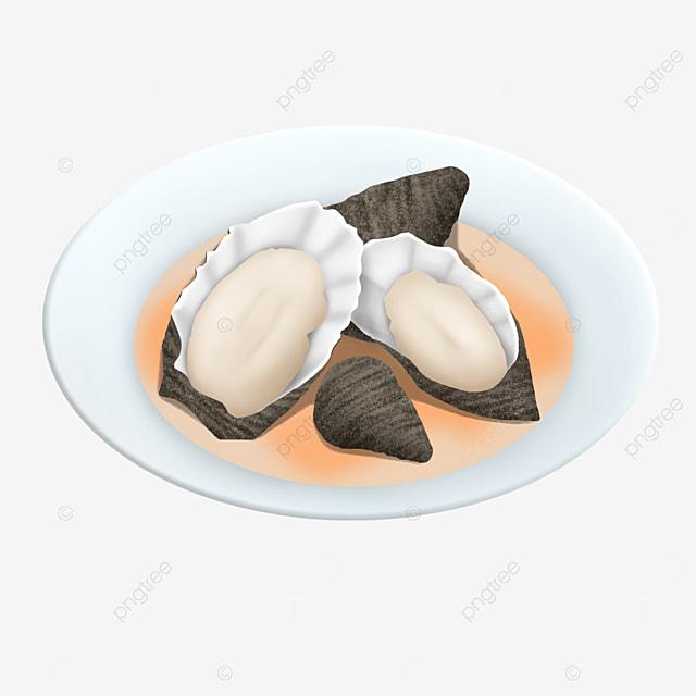 oyster plate clip art