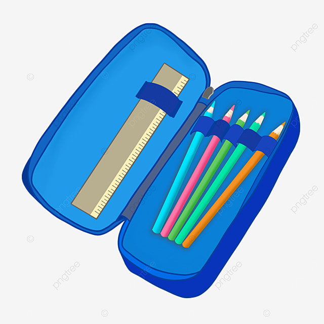 pencil case clipart learning stationery pencil case