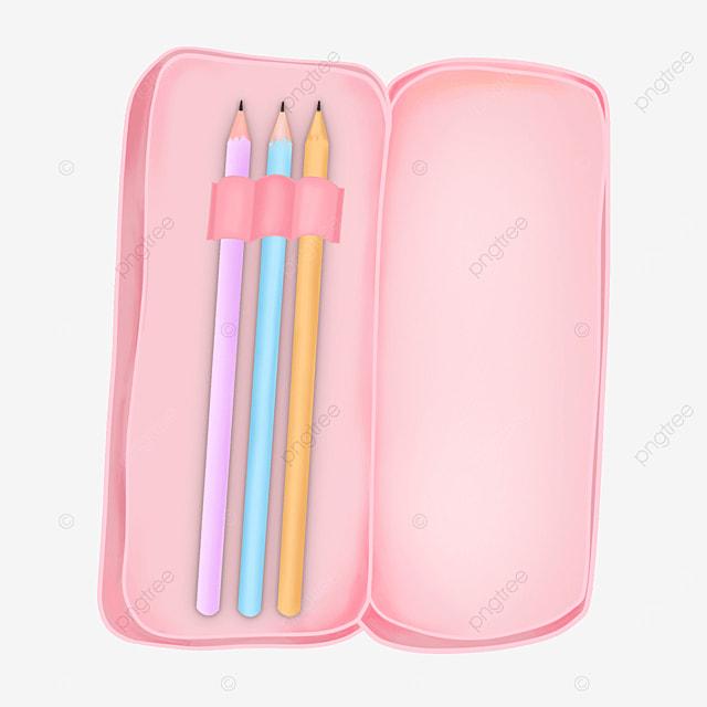 pencil case clipart pink pencil case