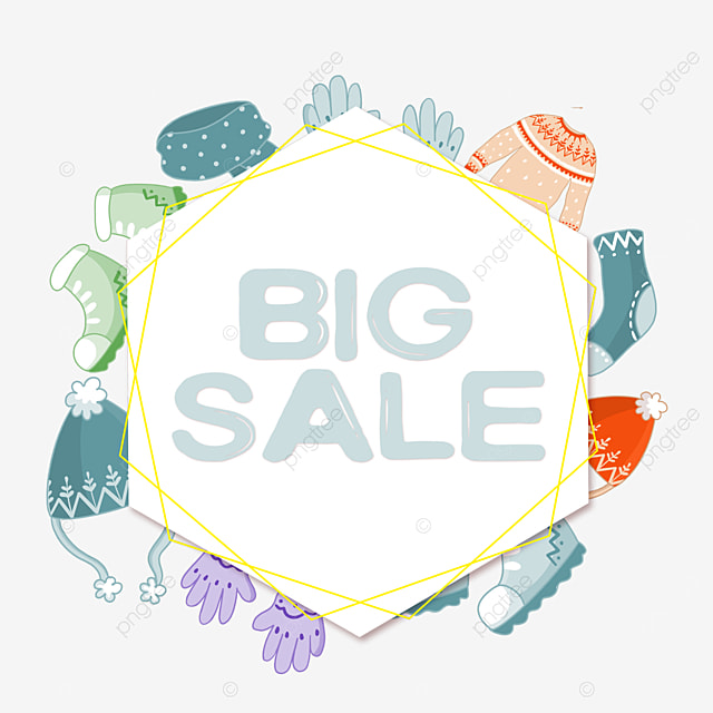 polygonal clothes price reduction promotion border