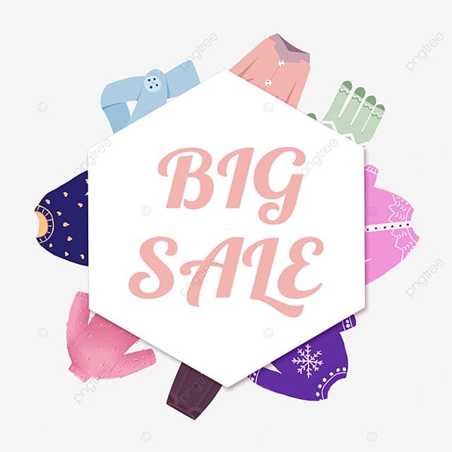 polygonal clothes promotion border