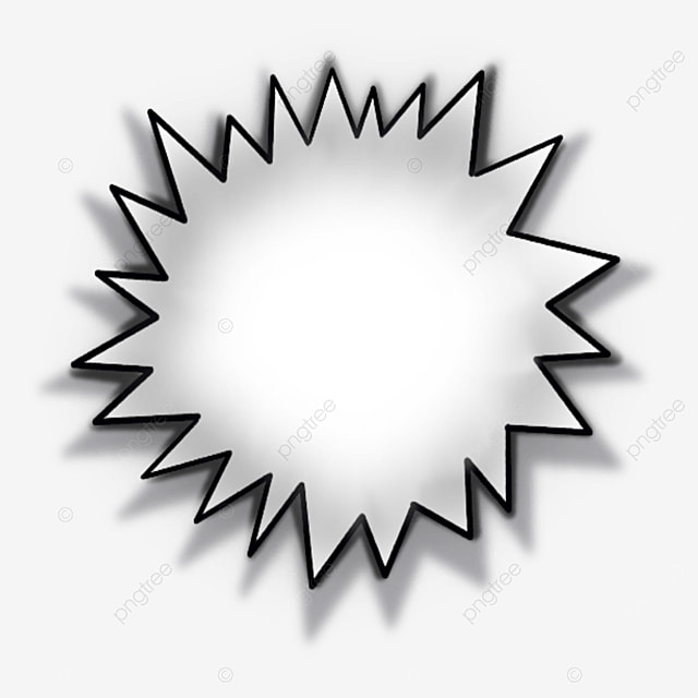 realistic style starburst clipart