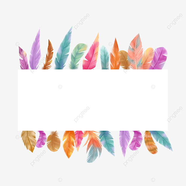 rectangle color feather border