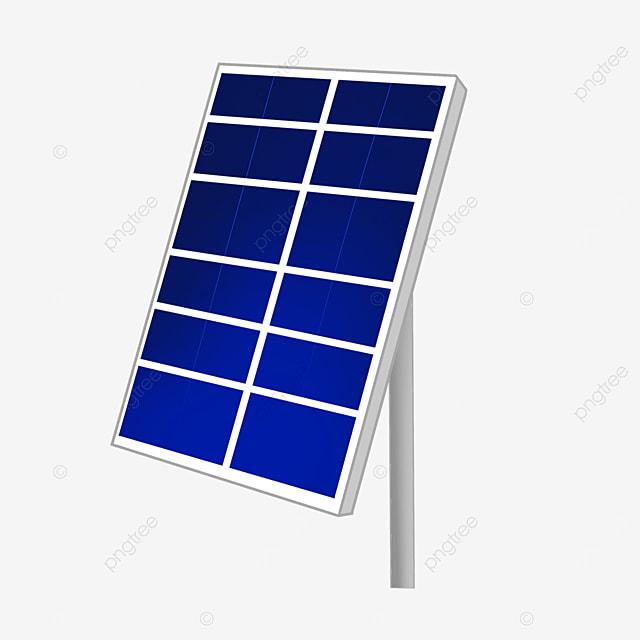 rectangular reflective solar panel clip art