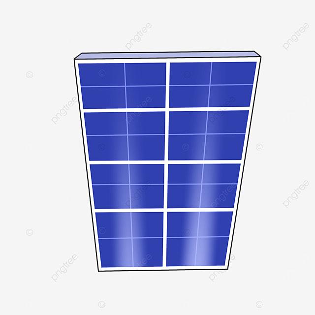 rectangular solar panel clip art