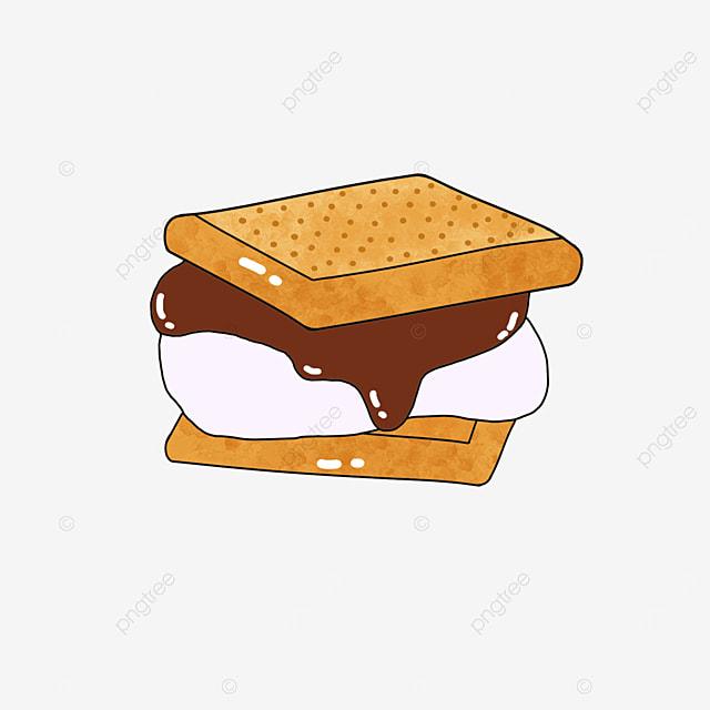 sandwich graham cookies clip art