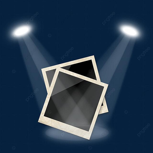 spotlight photo paper photo frame