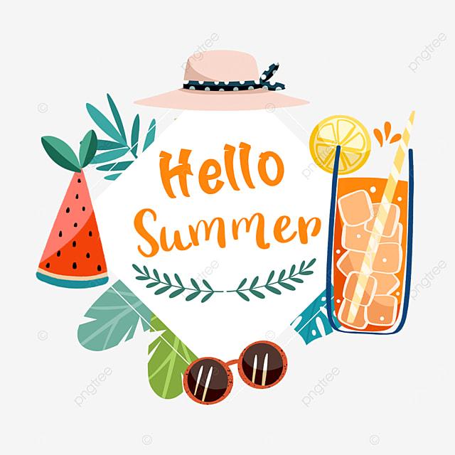 summer cute fruit border ideas