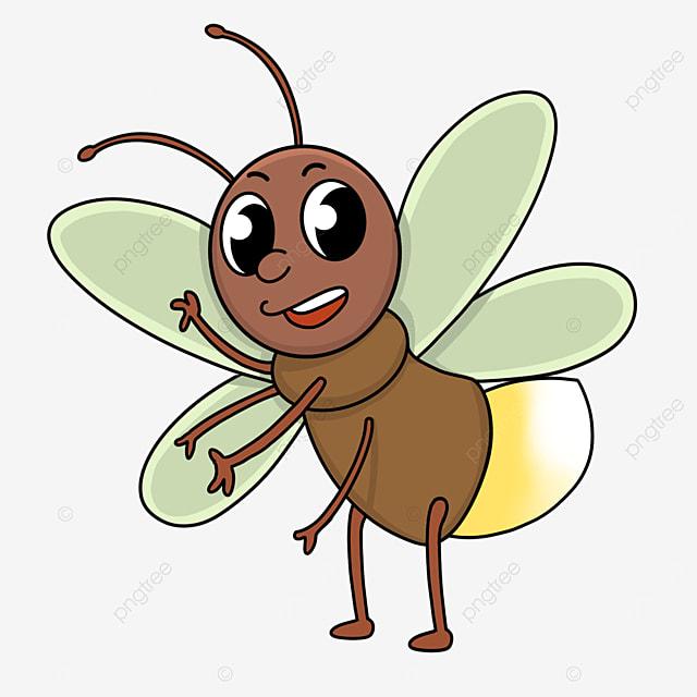 summer firefly clip art