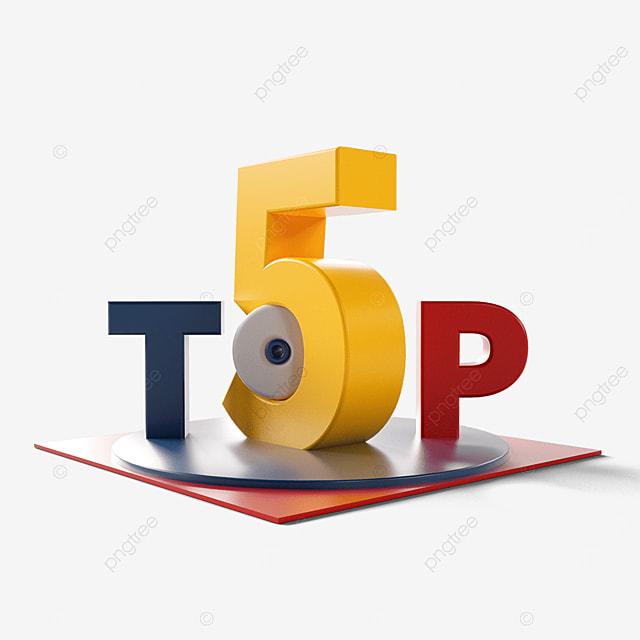 top five creative rankings