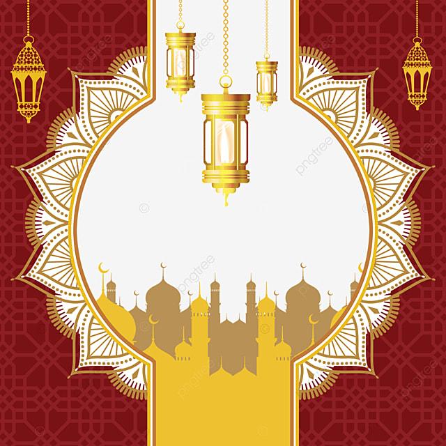 traditional holiday background pattern eid mubarak exquisite border