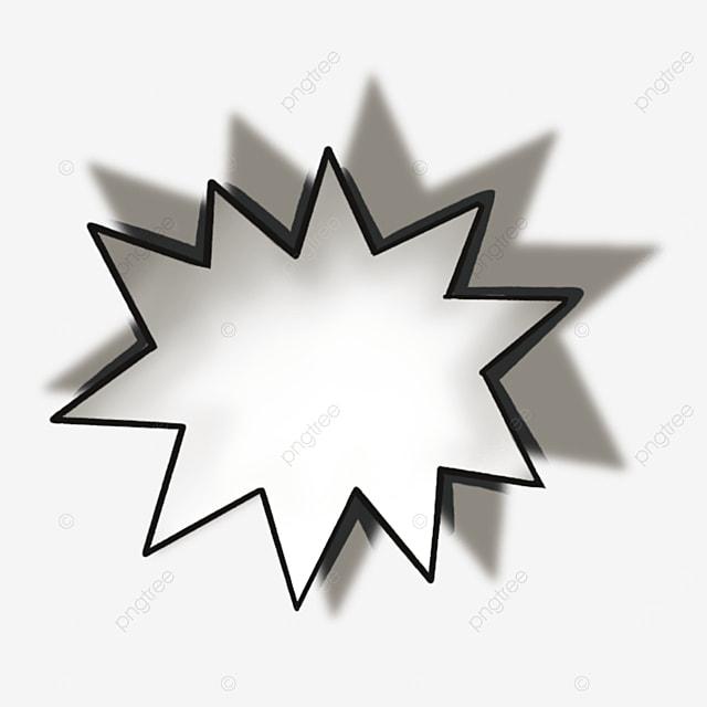 white starburst clip art
