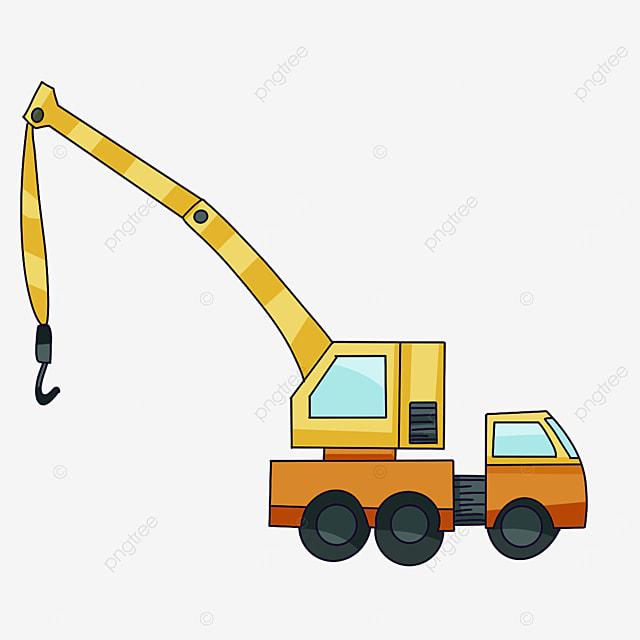 working crane clipart
