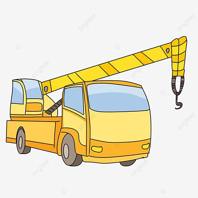 yellow crane clip art