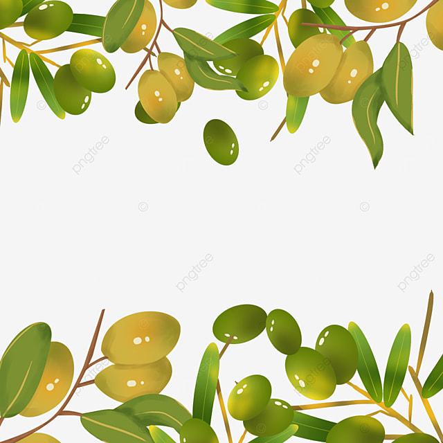 yellow olive creative border