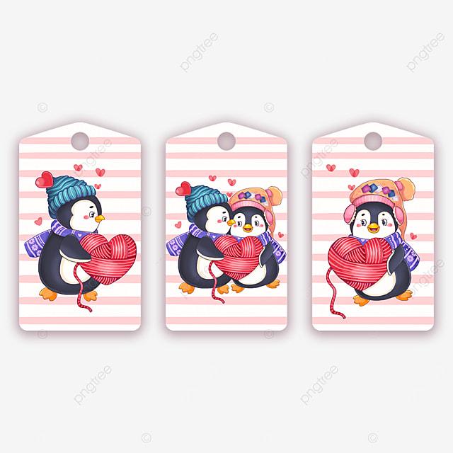 animal cute couple penguin tags