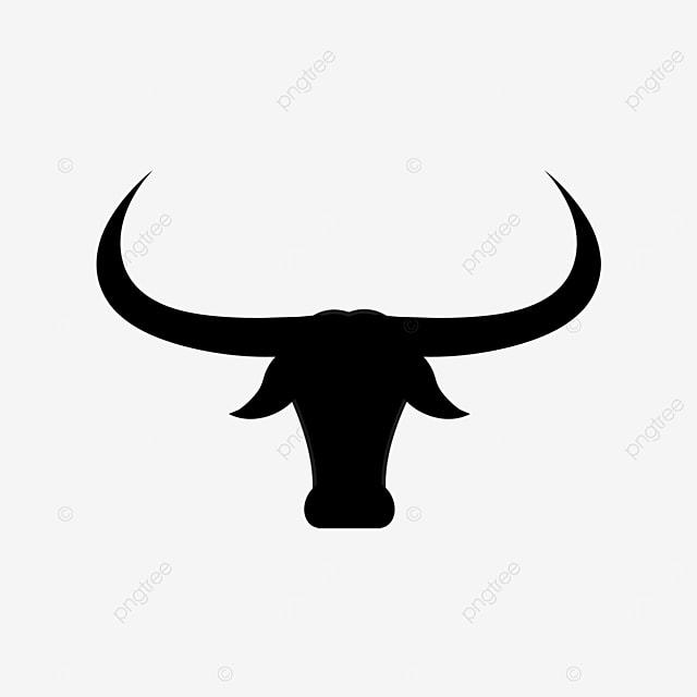 black longhorn bull clip art