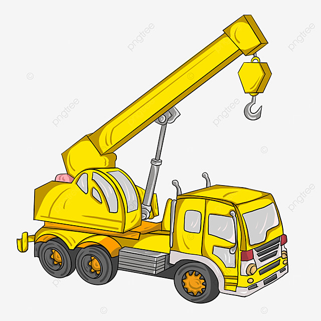 conventional crane clip art