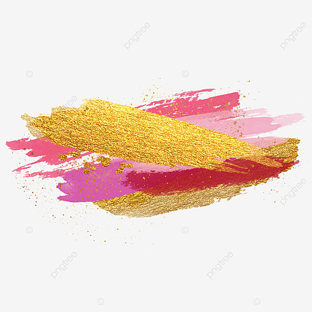 dreamy grainy golden pink brush