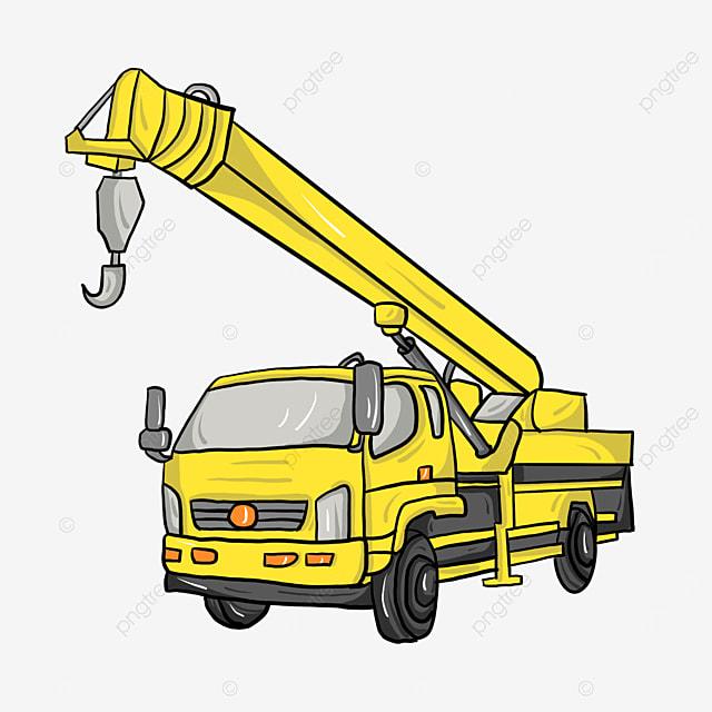 front crane clip art