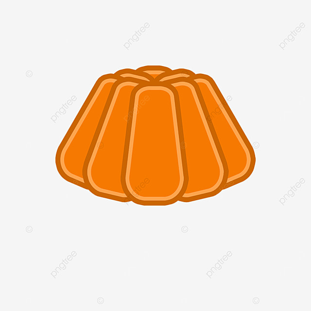 orange jelly clip art