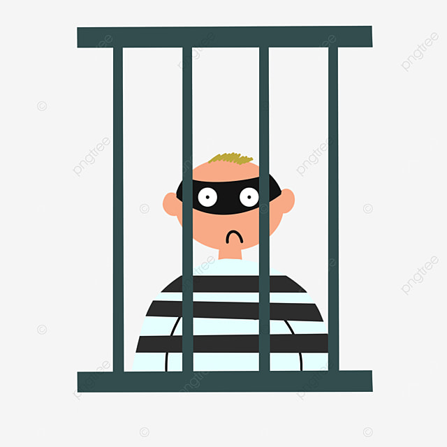 robber prison clip art