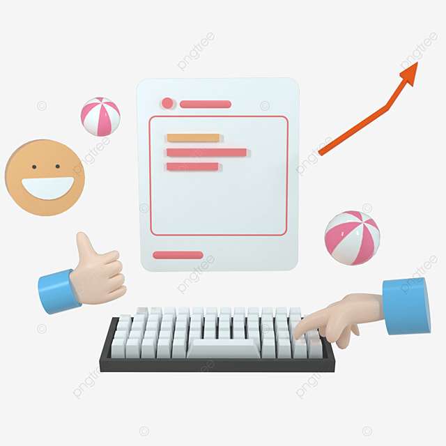search bar webpage handing the key for searching on the web search concept 3d rendering