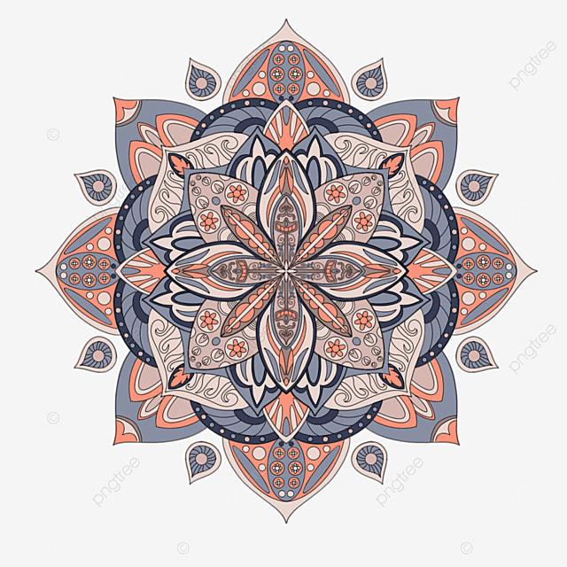 vintage mandala ornament abstract texture