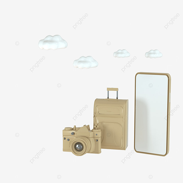 3d camera cute creative image
