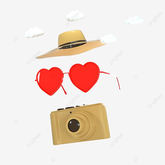 3d camera cute creative