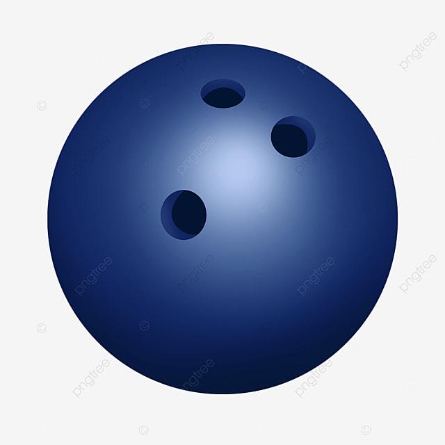 dark blue bowling ball clip art