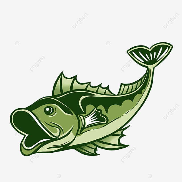 delicious sea bass clipart