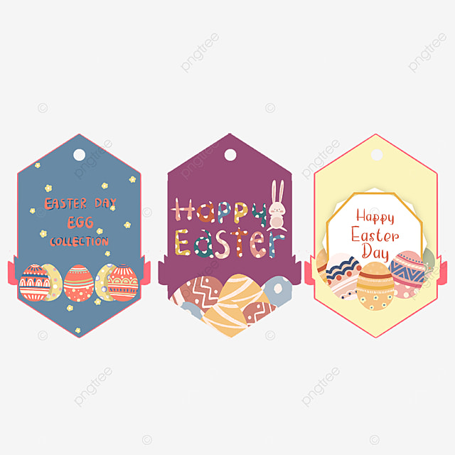 easter cute tags