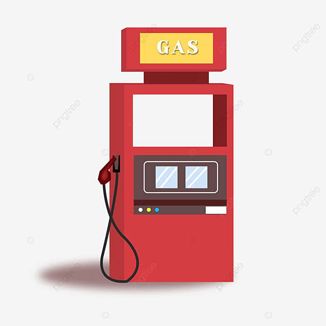 gas station clipart red gas tank
