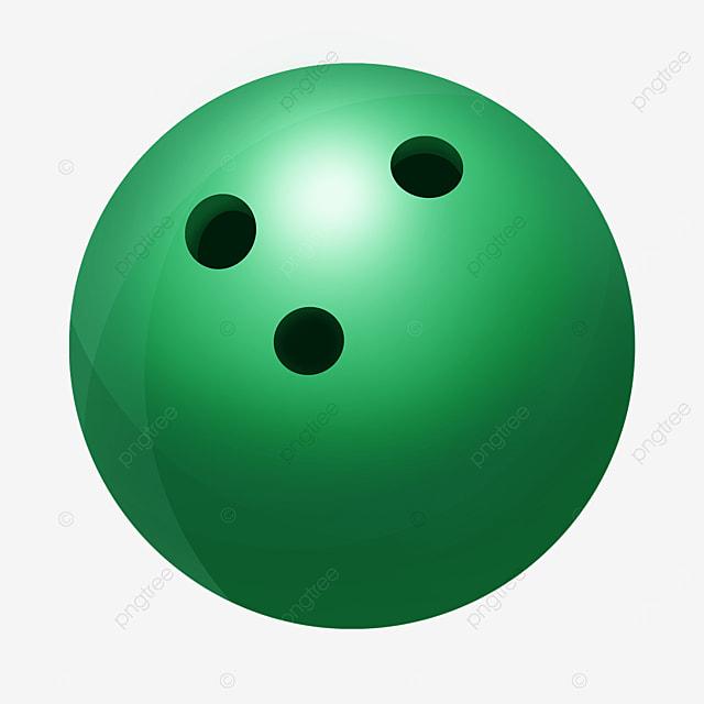 green bowling clip art