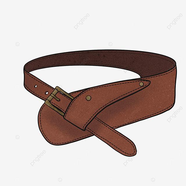 leather belt clip art