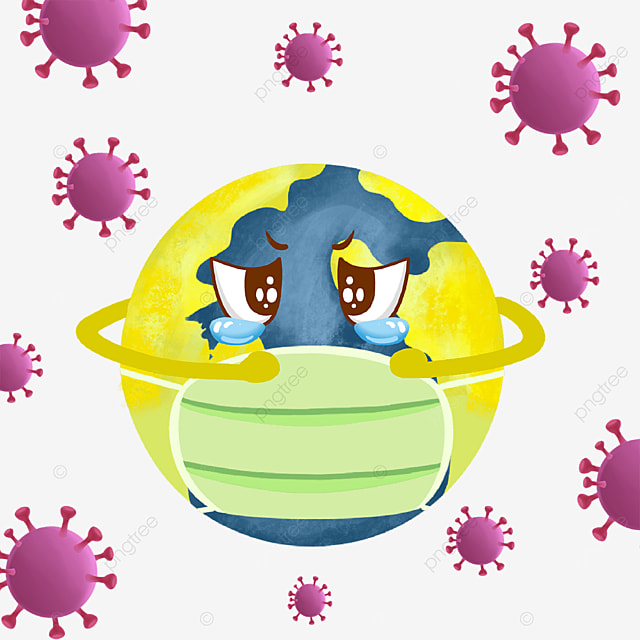 the new coronavirus invades the earth