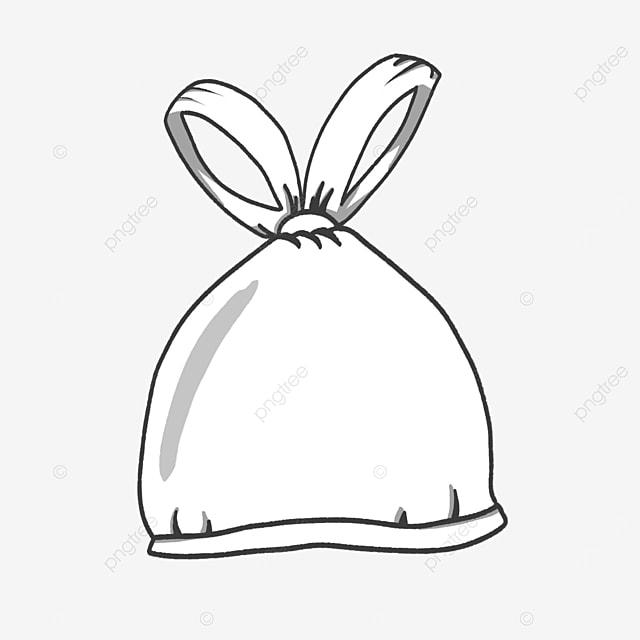 bundled plastic bag clip art