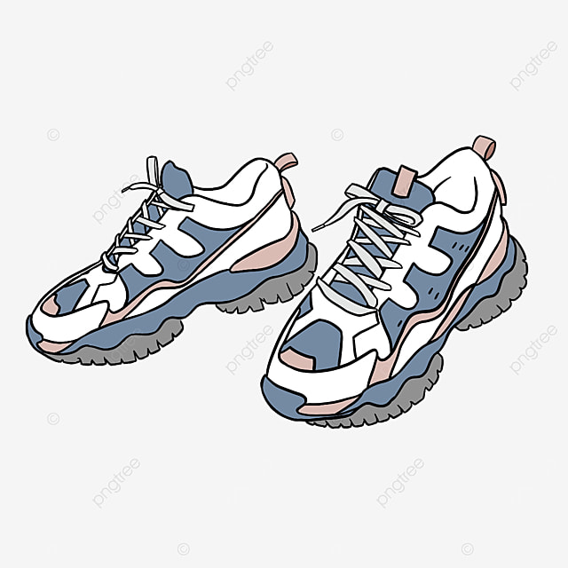 clipart girls all match running shoes platform