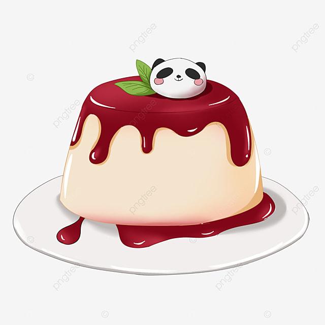 cute jam jelly pudding clip art