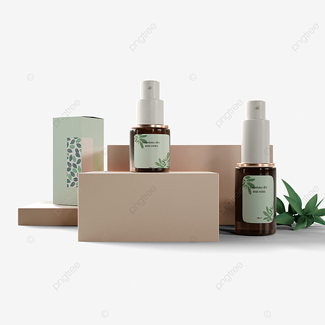 eco friendly cosmetic packaging booth