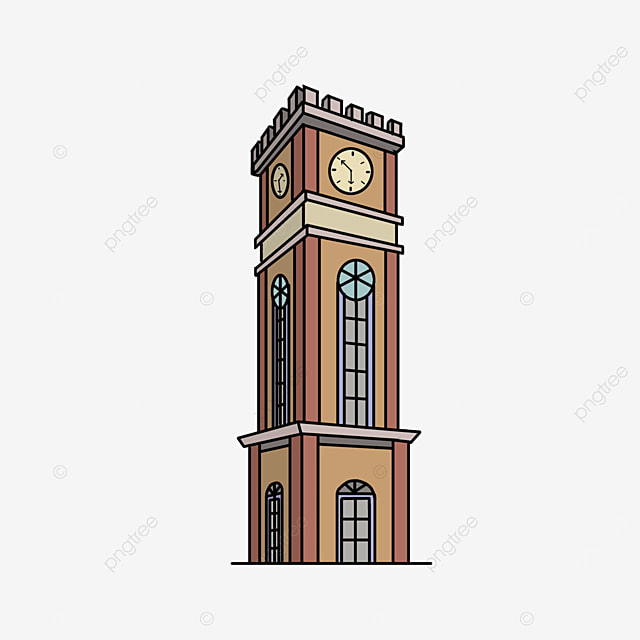 fortress tower clip art
