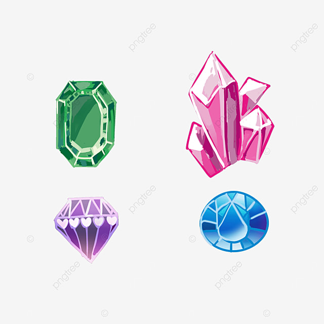 game jewelry mineral gems