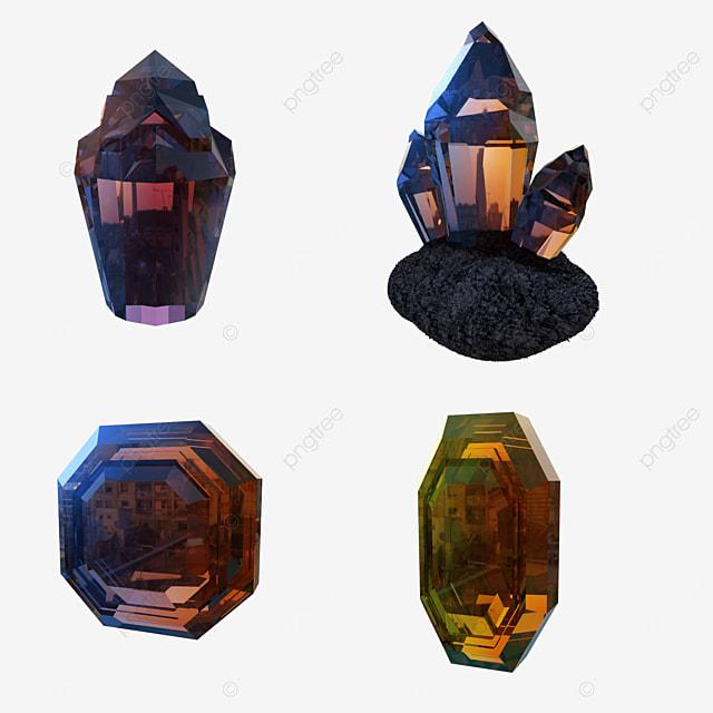 gradient crystal mineral