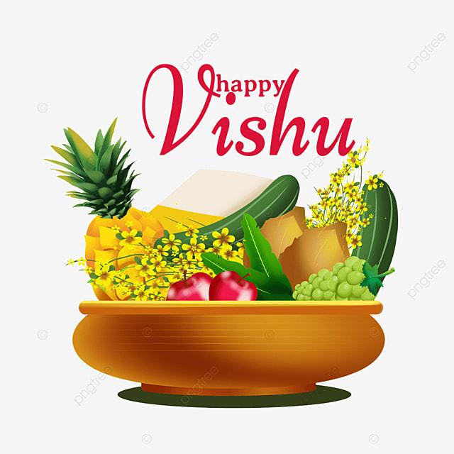 indian vishu fruit silver utensils