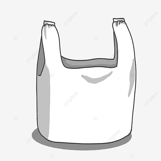 large plastic bag clip art