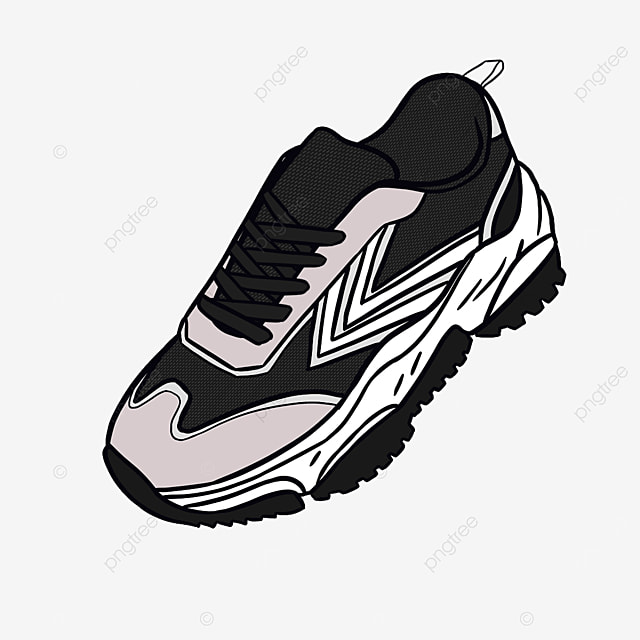 mens casual sneakers running shoes clipart