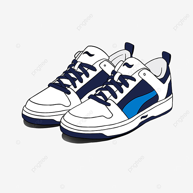 mens shoes casual running shoes everyday clipart
