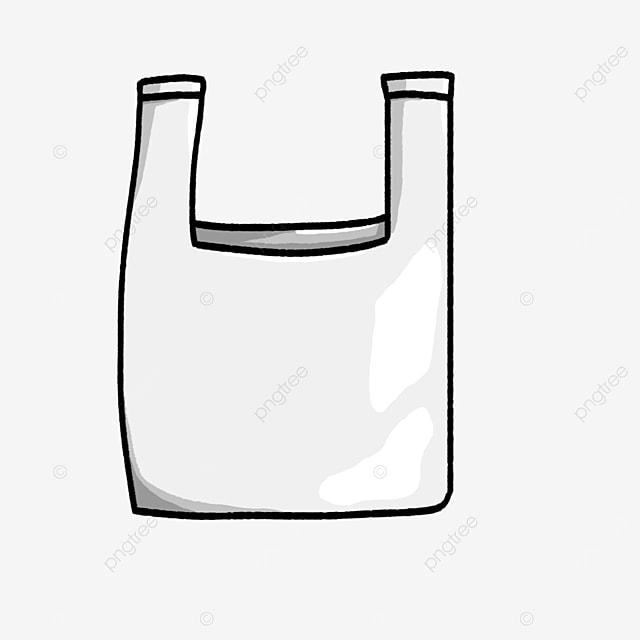 mini plastic bag clip art